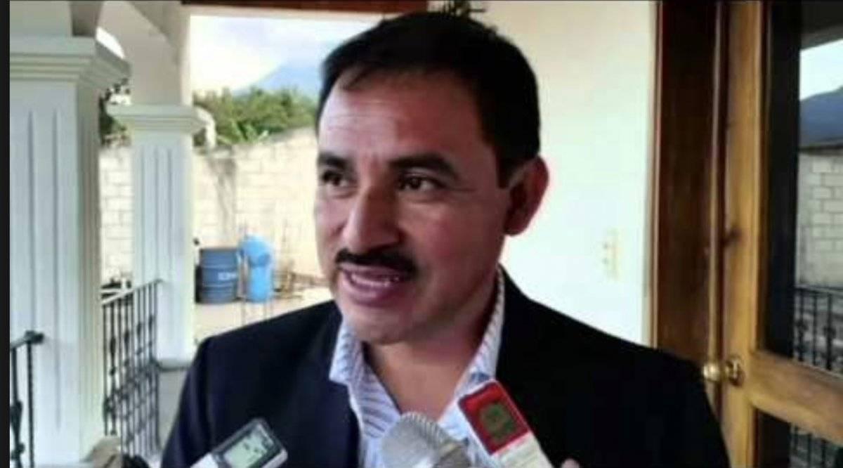 Miguel Antonio Lopez Barahona busca ser reelecto alcalde Pastores, Sacatepéquez. Foto: Captura de pantalla