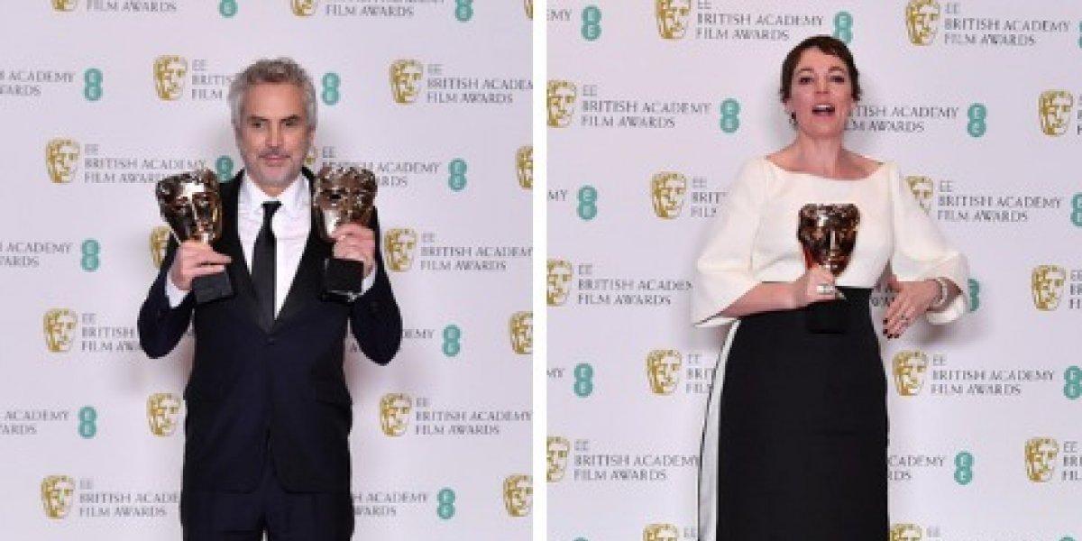 Estos fueron los filmes que triunfaron en la 72 edición de los premios BAFTA