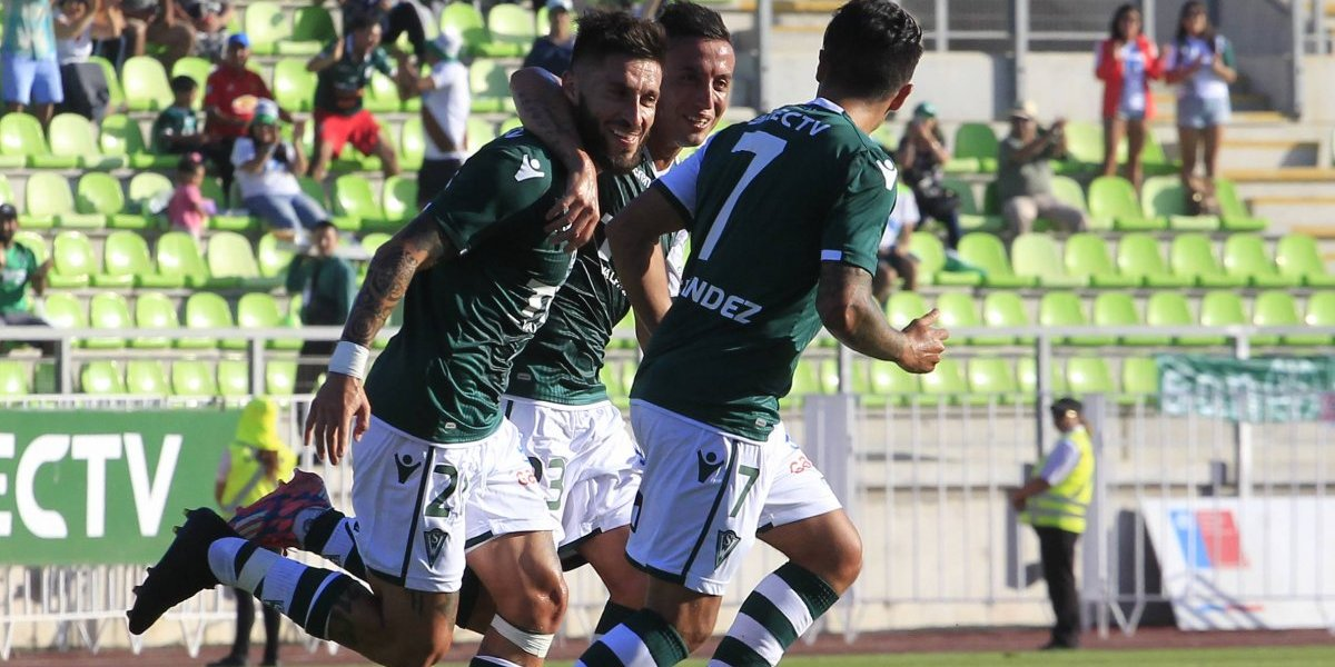 Santiago Wanderers festejó en la Noche Verde tras imponerse a O'Higgins