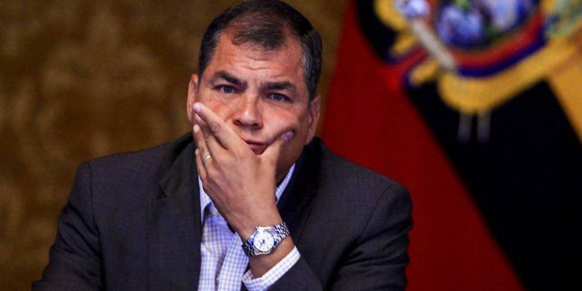 Rafael Correa se pronunció sobre el femicidio en Pisulí
