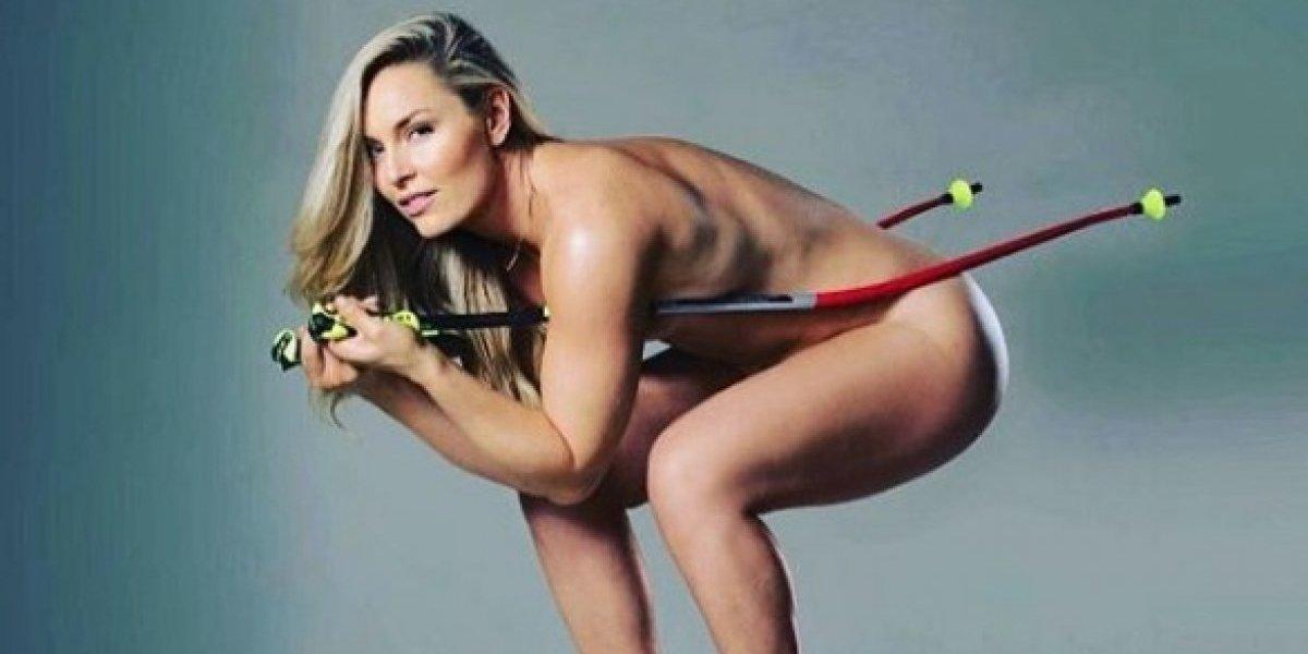 Las mejores fotos de la hermosa esquiadora Lindsey Vonn