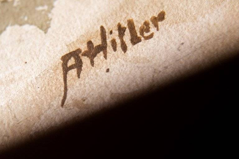 Objetos de Adolf Hitler para subasta AFP