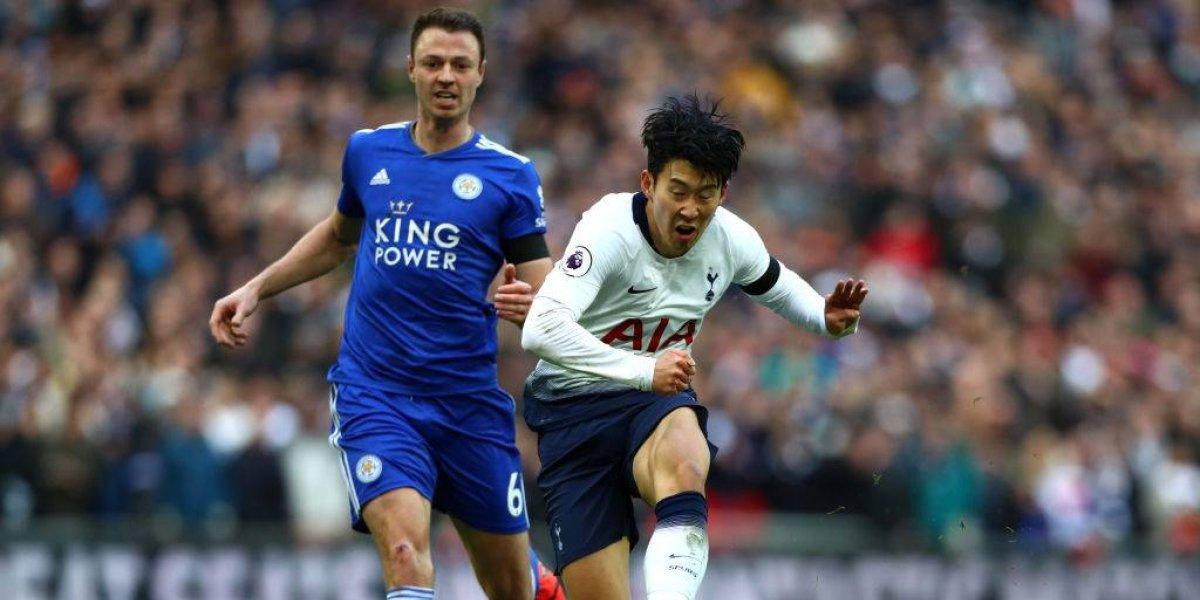 Tottenham se afianza en el tercer sitio de la Premier con triunfo sobre Leicester