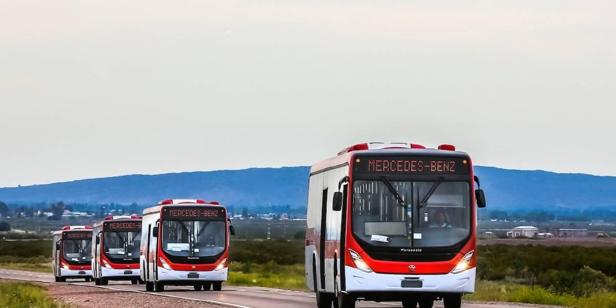Casi medio millar de buses Euro VI se incorporan al Transantiago