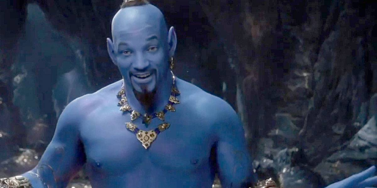 Video: Aladdín muestra a Will Smith como el genio e internet revienta en críticas