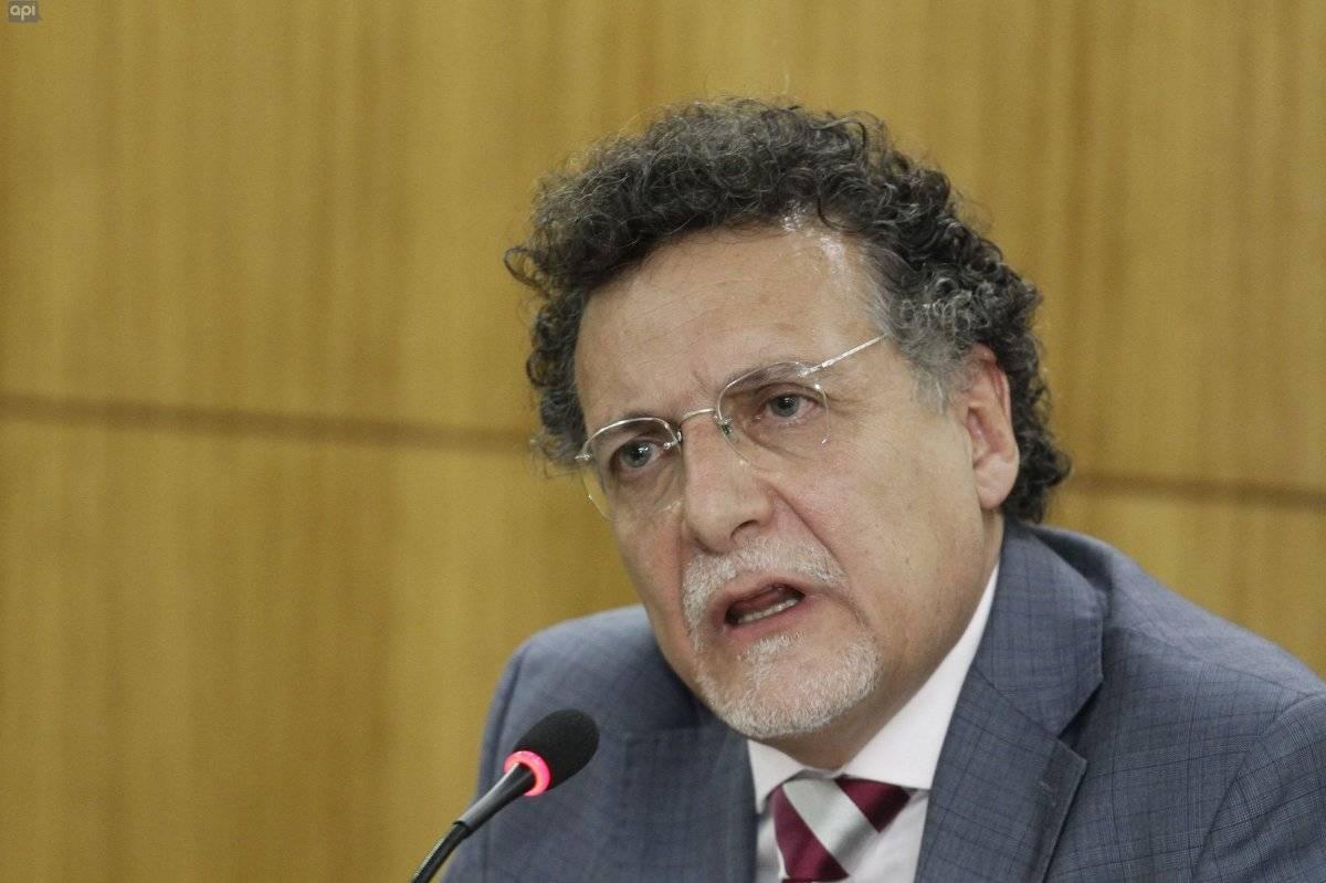 El Contralor General Subrogante, Pablo Celi