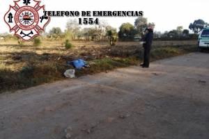cadáver de hombre en Chimaltenango