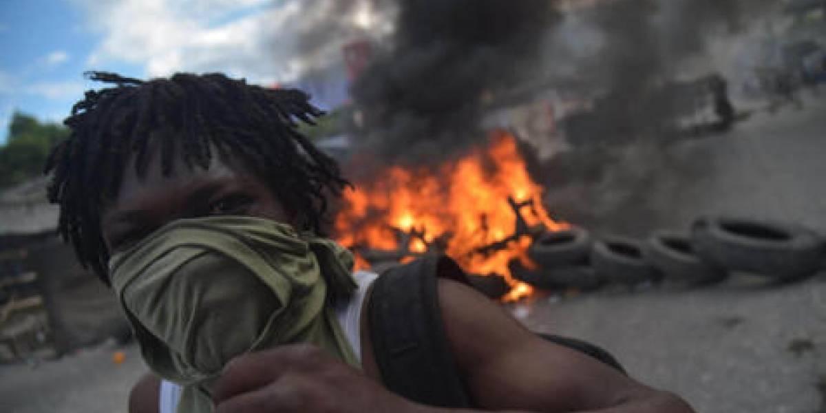 Capital haitiana, paralizada por protestas por crisis económica