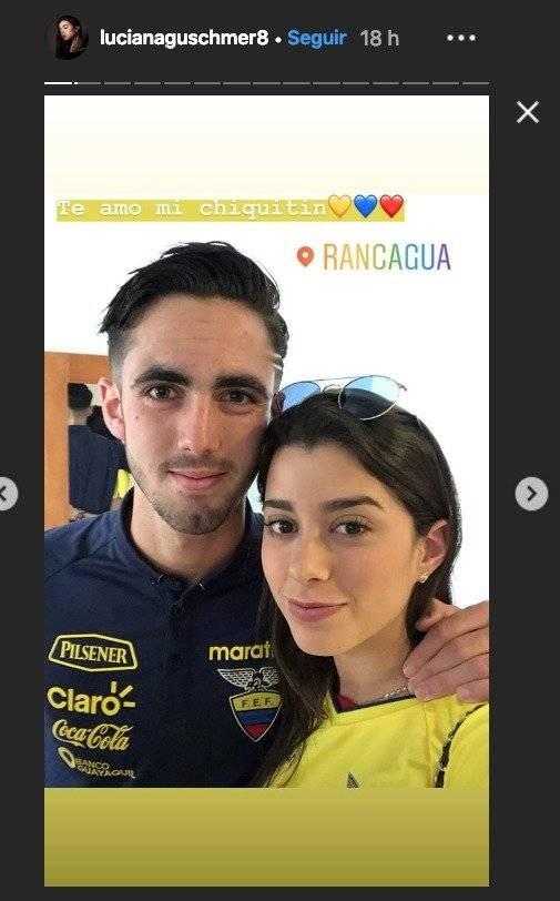 Novia de Leonardo Campana Instagram