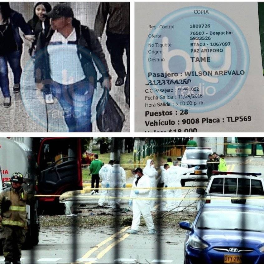 Fiscalía hace nueva imputación a involucrado en atentado del ELN en Bogotá