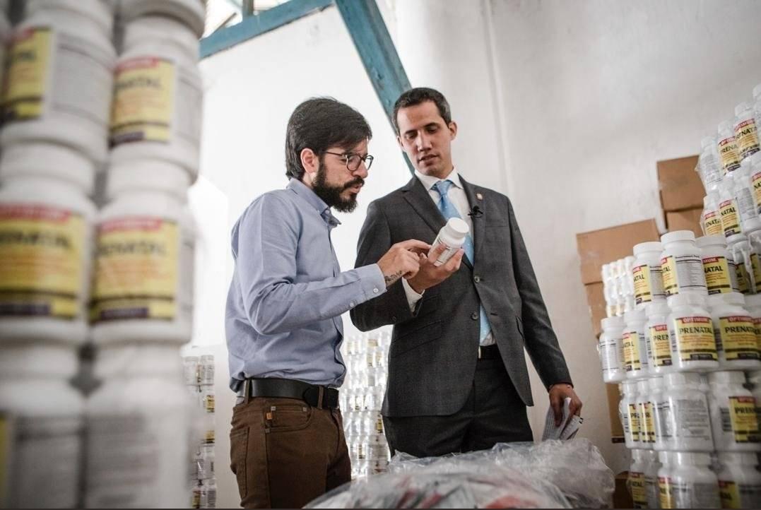 Guaidó confirma que ya fue entregado el primer cargamento de ayuda en Venezuela Twitter