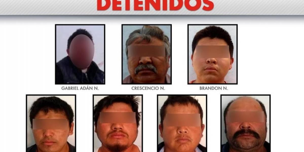 Detienen a 'Los Richard', banda de huachicoleros en Puebla