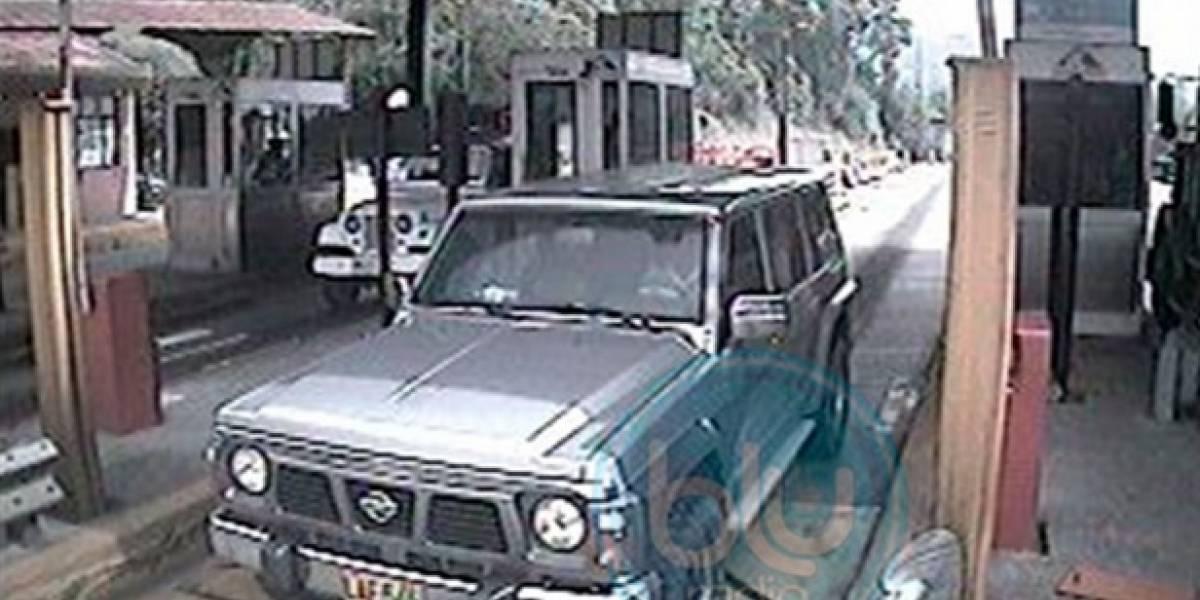 VIDEO: Así entró a Bogotá la camioneta que fue usada como carro bomba