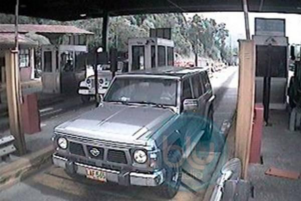 Así entró a Bogotá la camioneta que fue usada como carro bomba