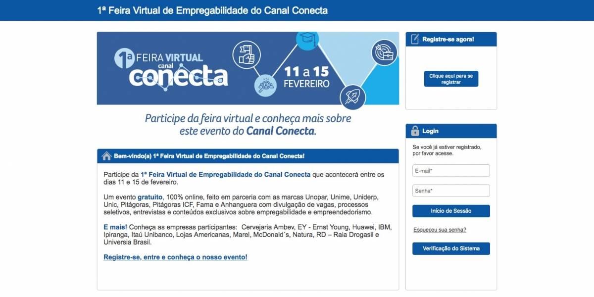 Feira virtual oferece 30 mil vagas de emprego em todo o Brasil; veja empresas participantes