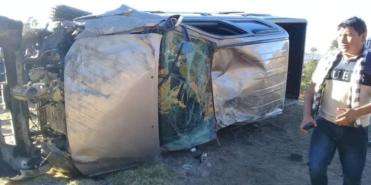 Accidentes de tránsito dejan 12 personas heridas y una fallecida