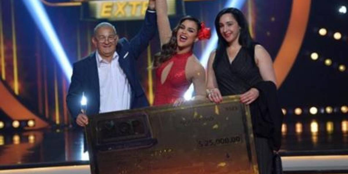"Clarissa Molina ganadora del reality ""Mira quién baila All Stars'"