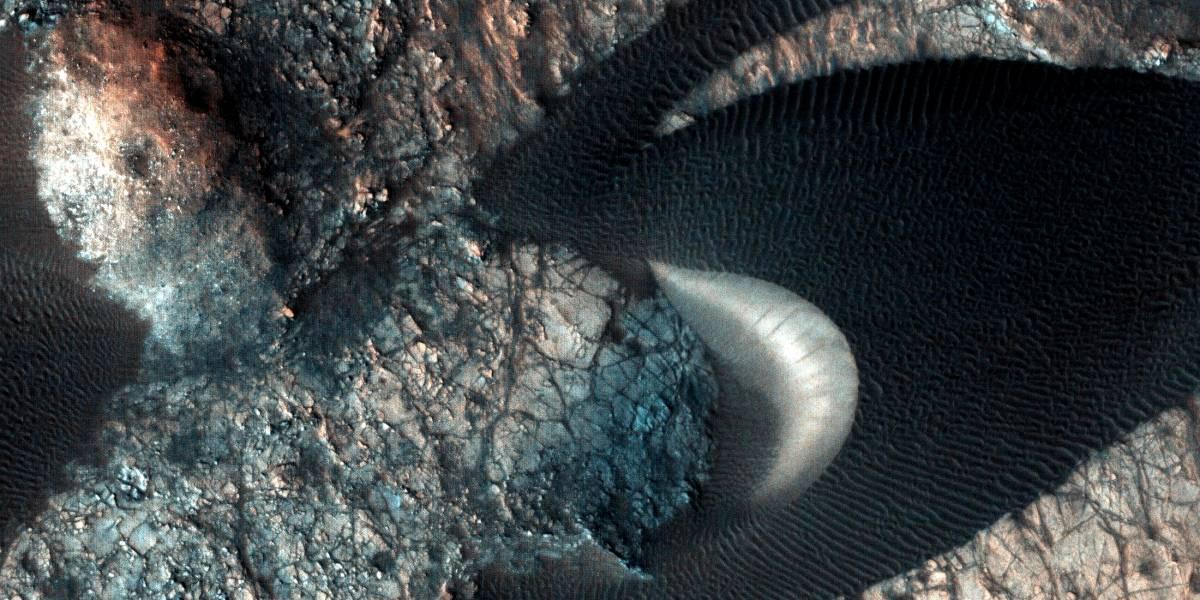 Estas extrañas dunas están en Marte y acaban de ser fotografiadas por la NASA
