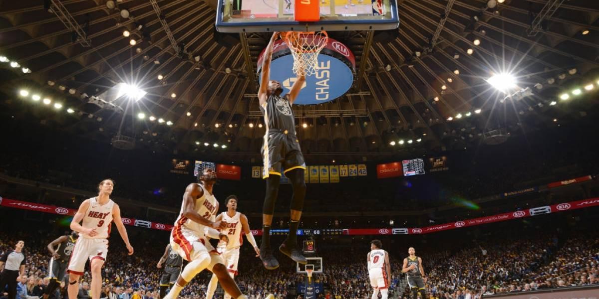 NBA: Kevin Durant fue la figura en la vibrante remontada de Warriors sobre Heat