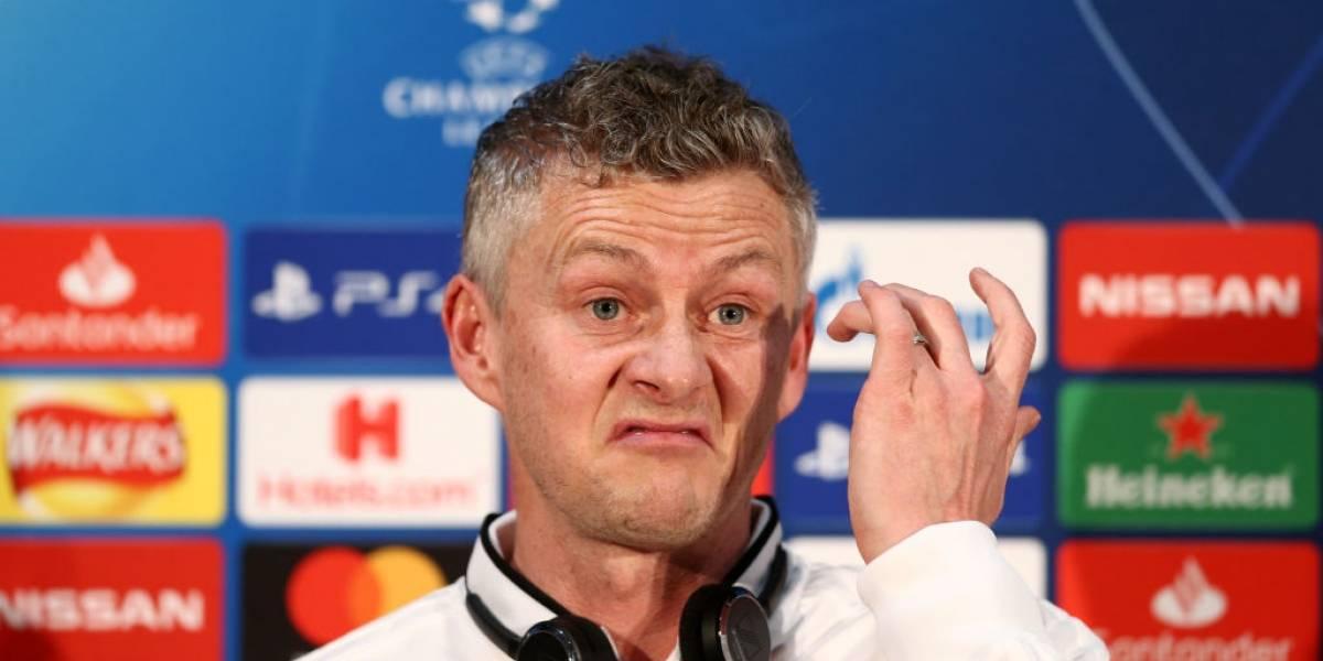 """Solskjaer le traspasó toda la presión al PSG para la Champions: """"Somos los más débiles de la serie"""""""