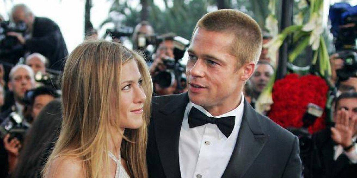 FOTO. Brad Pitt es captado en la fiesta del cumpleaños de Jennifer Aniston