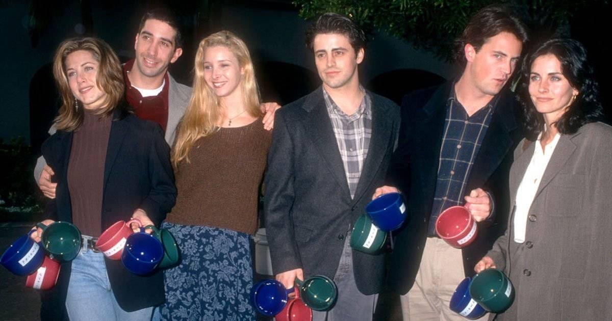 Elenco de Friends em 1995