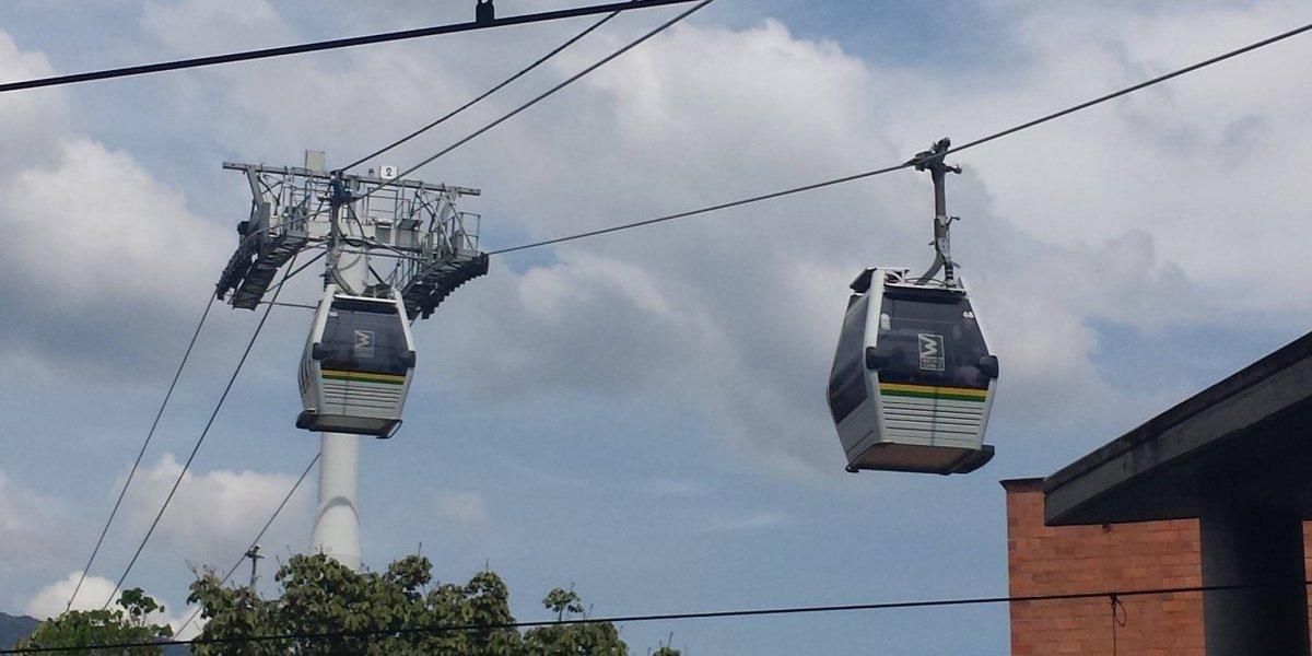 Medellín estrena nuevo metrocable, será el quinto en la ciudad