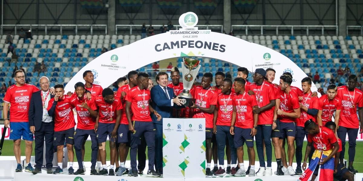 Sudamericano Sub 20: La 'Mini Tri' arribará este 11 de febrero a Quito tras clasificarse al Mundial de Polonia