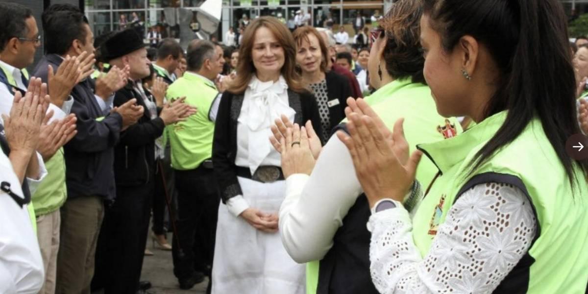 """Patricia Escobar de Arzú devenga Q300 mil anuales por """"servicios técnicos"""""""