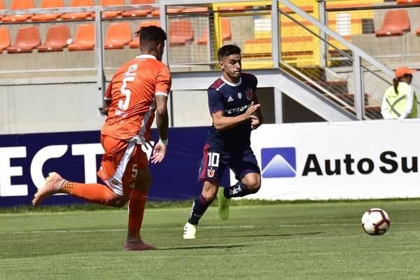 El futbolista argentino es duda para la vuelta frente a Melgar / Imagen: Photosport