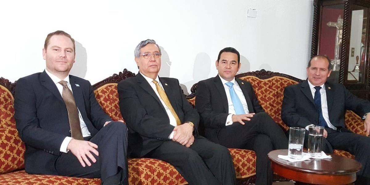 Presidentes de los tres poderes del Estado