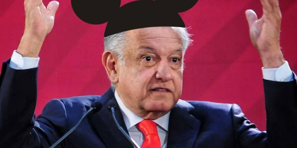 AMLO habla sobre el problema de la compra de FOX por parte de Disney