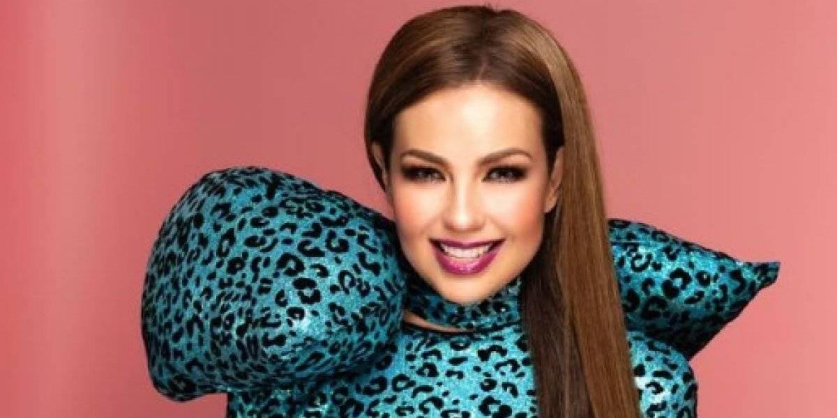 Thalía presume accesorio guatemalteco en su cabello y fans estallan de emoción