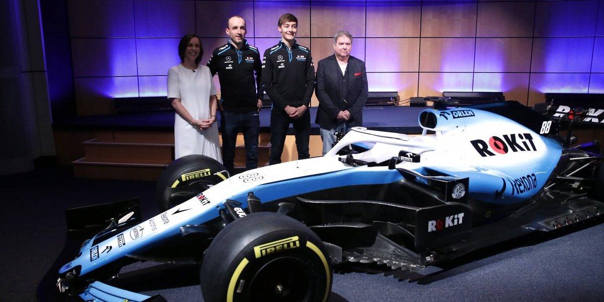 Toro Rosso y Williams presentan sus nuevos monoplaza para F1