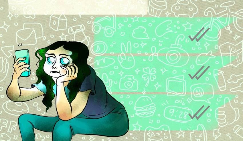 Si tienes estos síntomas, podrías ser adicto a WhatsApp
