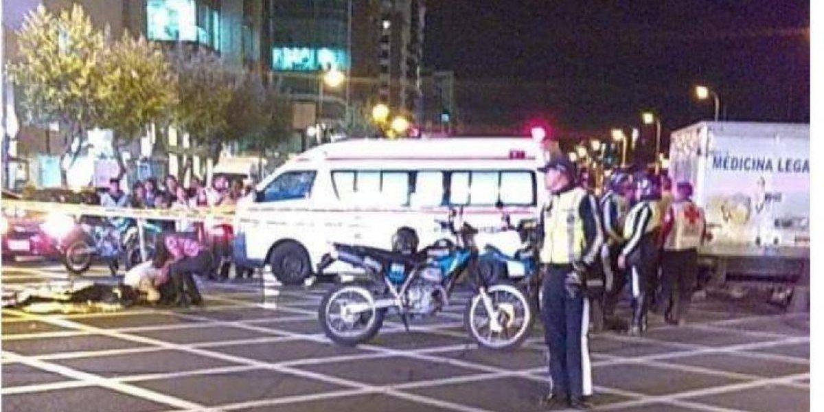 Quito: Un hombre falleció tras ser atropellado por bus en la Shyris y Portugal