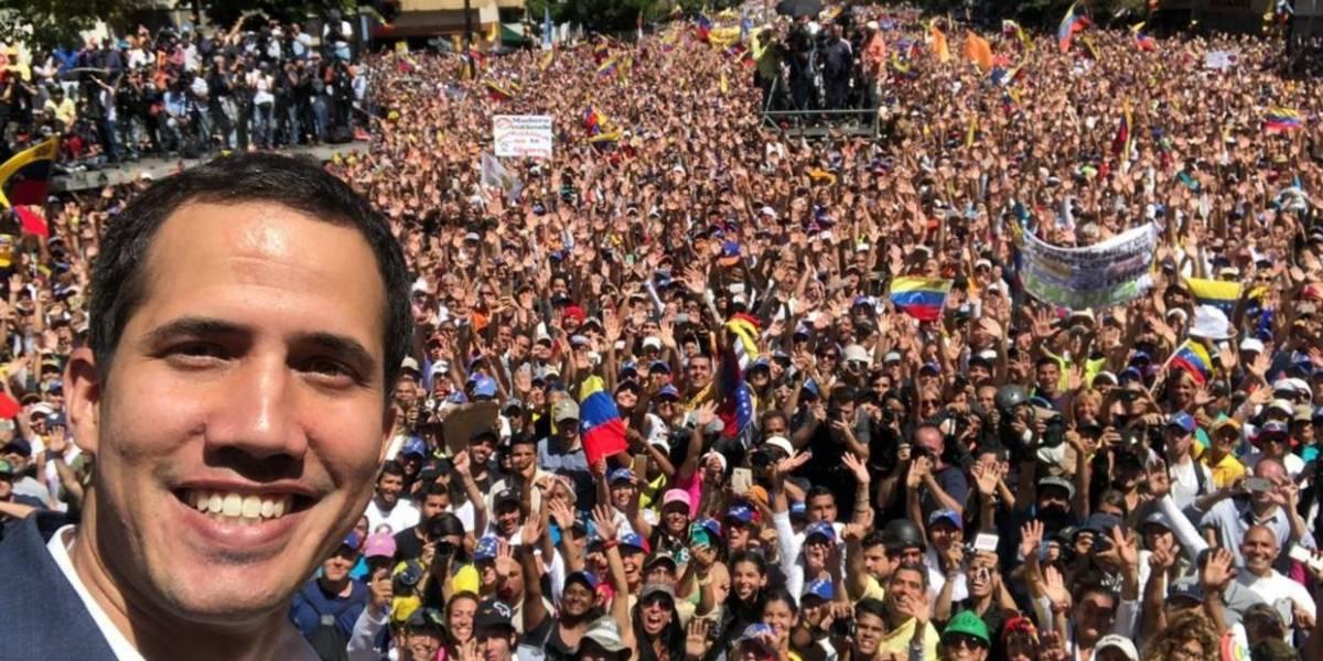 """Guaidó: """"el 23 de febrero ingresará la ayuda humanitaria a Venezuela"""""""
