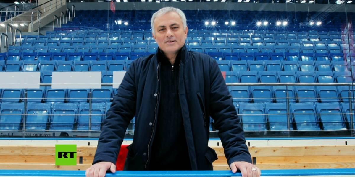 Ex-técnico do Manchester United, José Mourinho vai ganhar programa de TV em canal estatal na Rússia