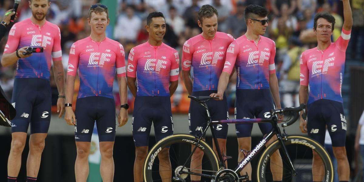 Rigo, profeta en su tierra: ganó en Medellín y se hizo líder del Tour Colombia 2.1