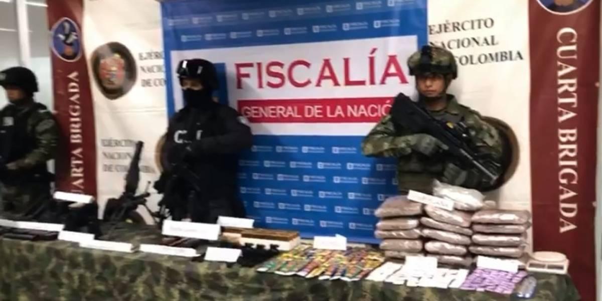 Hallan un arsenal de guerra en Medellín, sería para conformar célula urbana del ELN