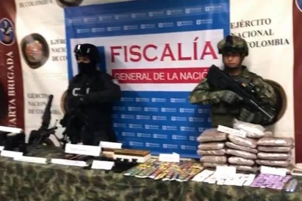 Arsenal de guerra en Medellín