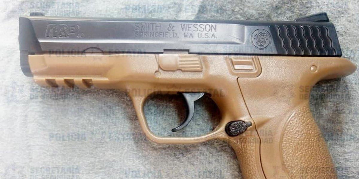 Capturan a presunto asaltante en Ecatepec que intimidaba con 'arma de juguete'