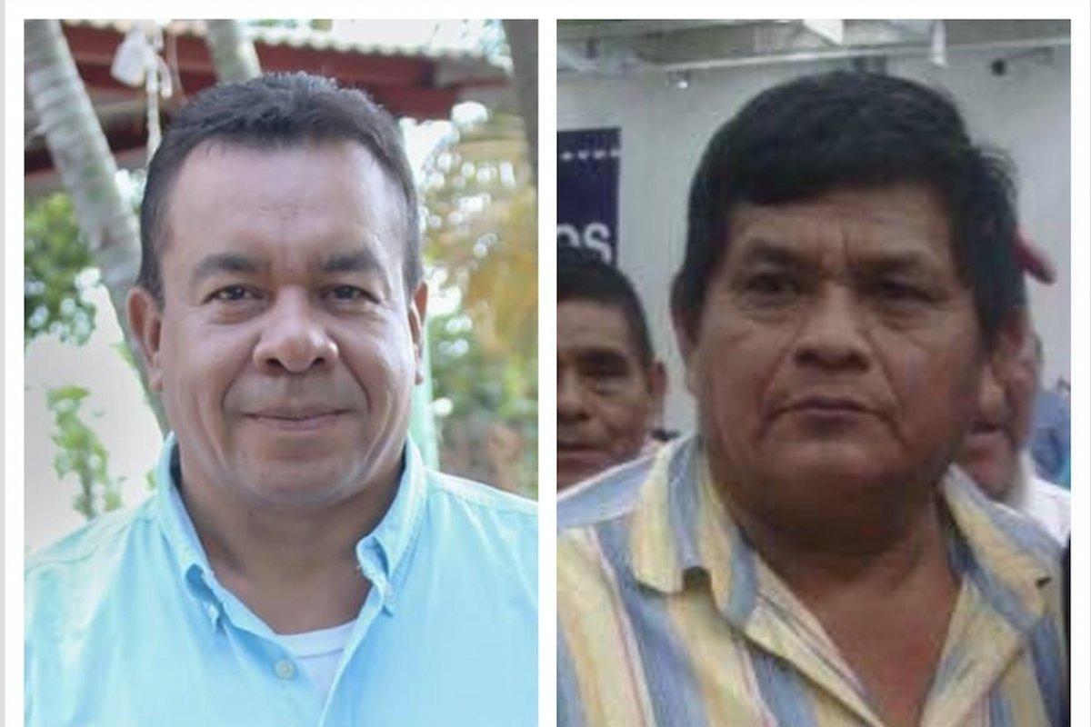Asesinan candidatos alcalde del partido Fuerza. Fotos: Cortesía Fuerza