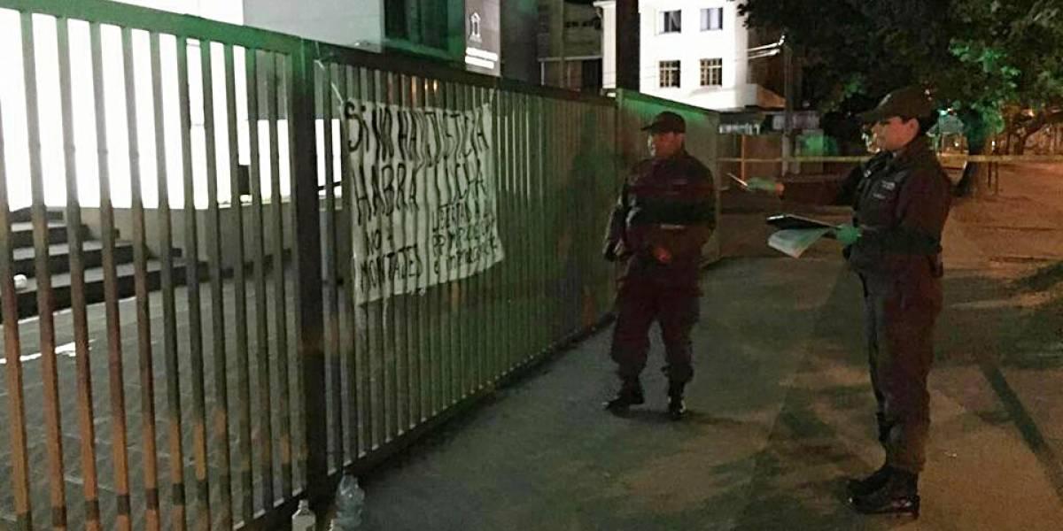 Intento de robo a cajero automático provoca explosión en sucursal bancaria