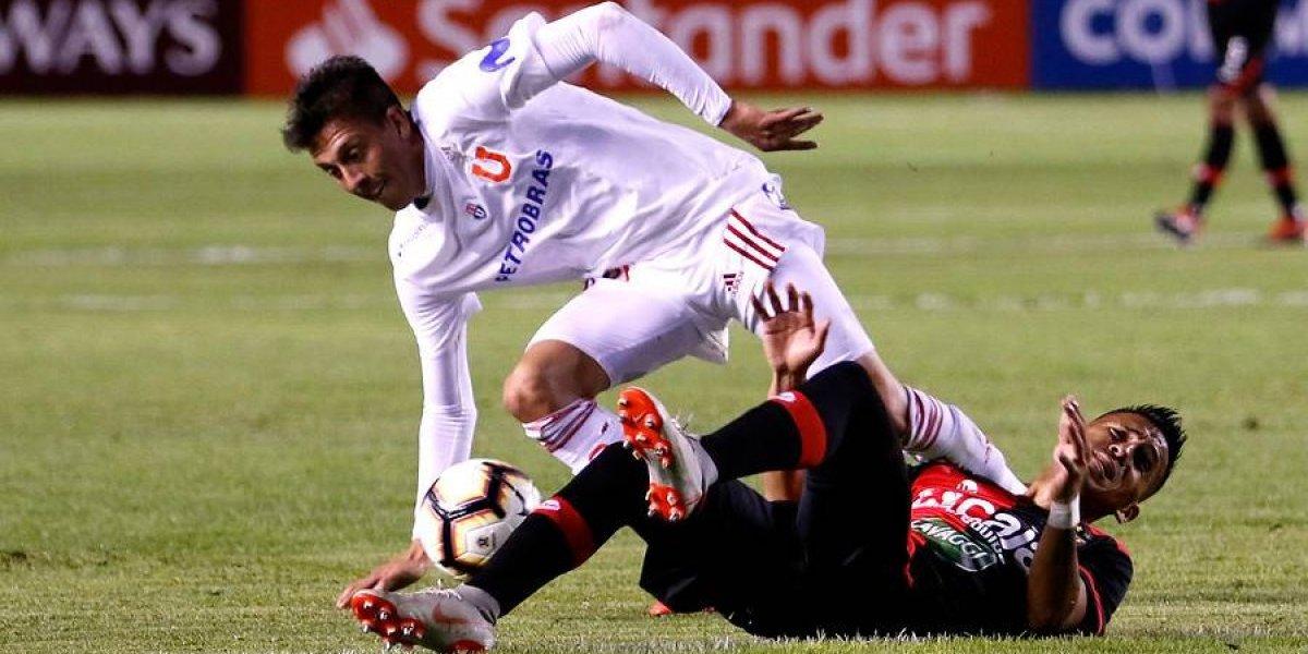 Kudelka tiene dos dudas para definir la formación de la U ante Melgar en la Libertadores
