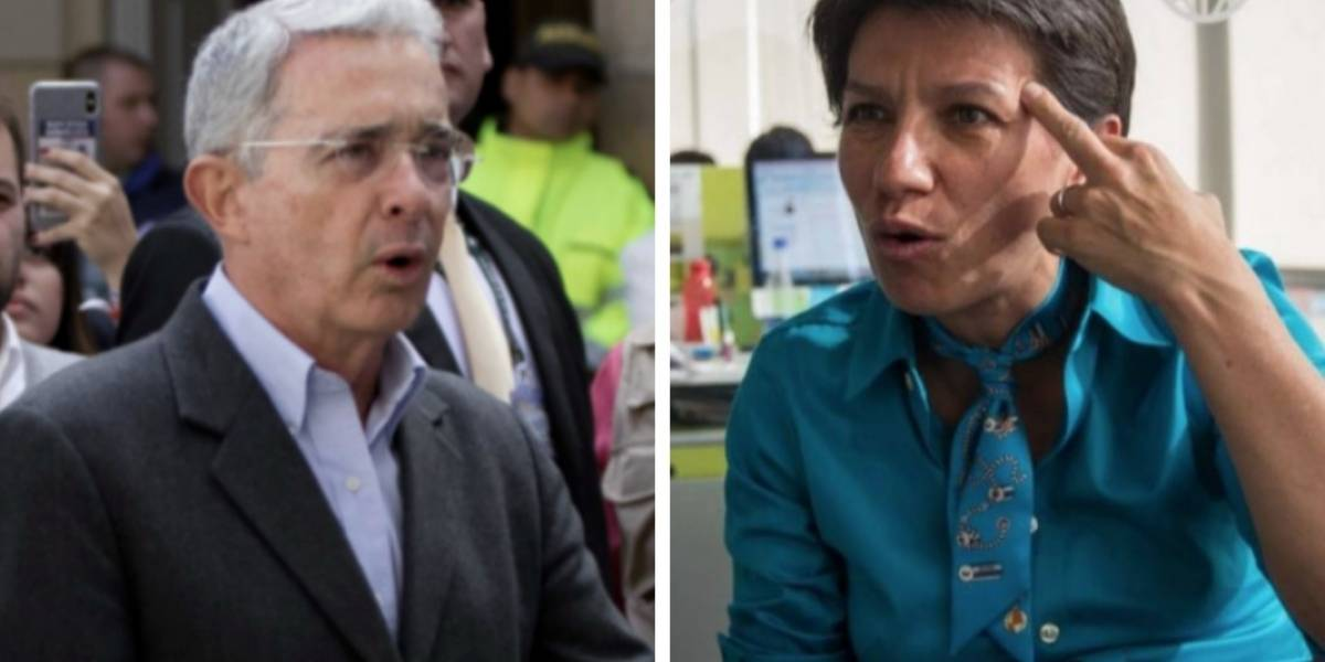 La mentira de Uribe sobre Claudia López que tuvo que borrar para no hacer el 'oso'