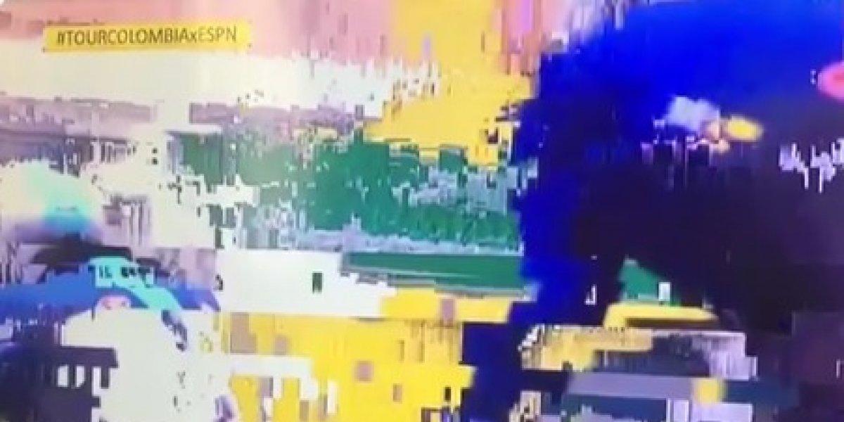 Las críticas a ESPN por la deficiente transmisión en el Tour Colombia 2.1.