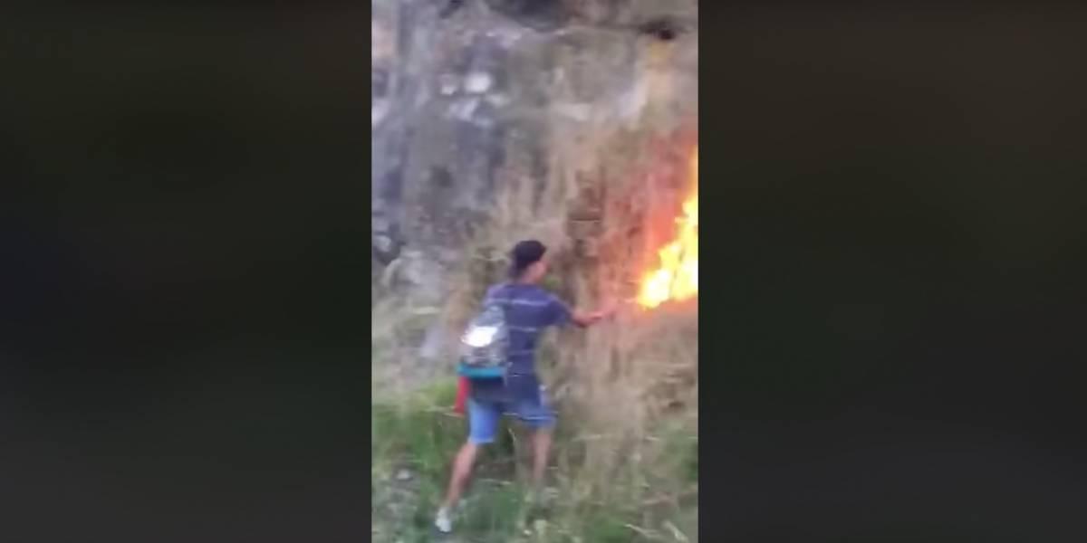 Encuentran y hacen declarar a menor que habría iniciado incendio en Coronel