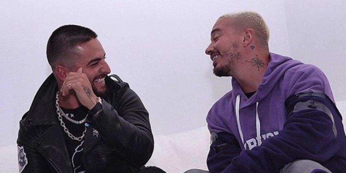 """Maluma said """"hp"""" to J. Balvin"""