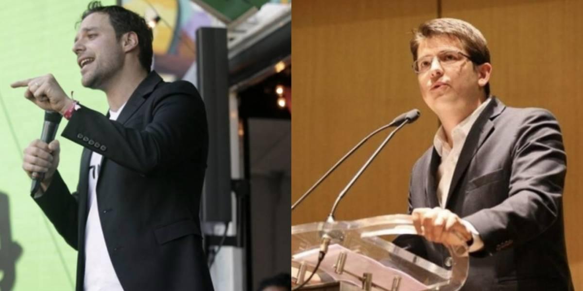 Las pullas que se lanzaron Luis Ernesto Gómez y Miguel Uribe en Twitter